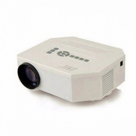 UC30 HD Mini LED Projector, Native 640X480, Support HDMI, Three Glasses Lenses, 150 Lumens, With Remote Controller Color1