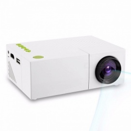 YG310 LCD Projector 600LM 320 X 240 1080P Mini Portable HD Movie LCD Projector Home Theater For Video Games TV Color1