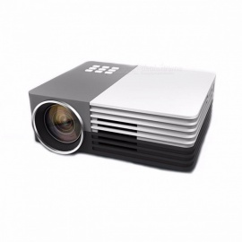 GM50 LED Mini Video LCD 1080P 3D Home Theater Projector Full HD Proyector Beamer Projector With HDMI USB VGA Color1