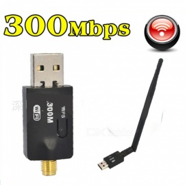 Usb wifi wireless card 300m wireless receiver RTL8192 computer wireless wifi AP transmitter