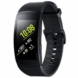 "samsung gear fit2 pro R365 1,5"" buet super AMOLED smart armbånd med 0,5 GB RAM, 4 GB ROM - svart"