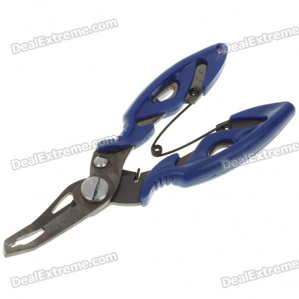 Multi-Function Fishing Pliers Scissors Tackle Tool - Color Assorted
