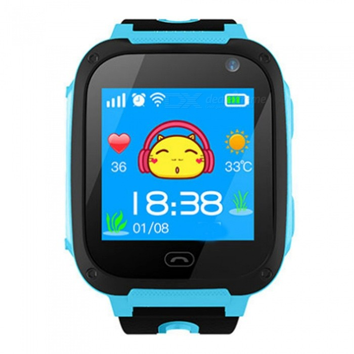 Children'S Smart Watch Waterproof Positioning Touch Screen Card Student Phone Watch