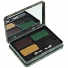 Military Paint Face Camo Camouflage Kit Case with Mirror & Brush
