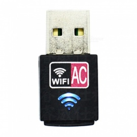 AC600M wireless network card 11ac built-in antenna usb dual-band 2.4G/5.8G wireless WIFI receiver
