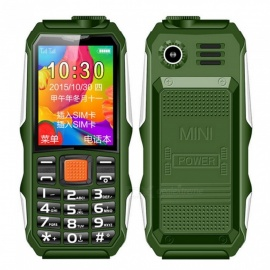 H1 IP68 Waterproof Mobile Phone FM Flashlight MP3 Swimming Support Shockproof Outdoor Dustproof Robust Phone