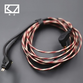 Original KZ ZST 2ohm Dedicated Cable 0.75mm 2-Pin Upgraded Cable - With Microphone