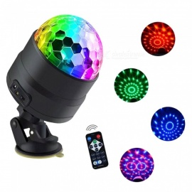 RGB LED magic rotating stage lights Infrared remote control 5 meter USB color KTV DJ lights disco lights night lighting effects