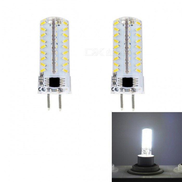 jrled g5 3 5w cool white 3014 72 led dimmber silicone bulbs ac 220v 2pcs free shipping. Black Bedroom Furniture Sets. Home Design Ideas