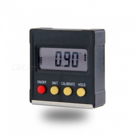 360 graden mini digitale gradenboog inclinometer elektronische niveau doos magnetische base meetinstrumenten