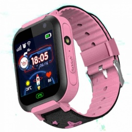 DS37 MTK2503 Processor Smart Bluetooth Watch Wristwatch - Pink