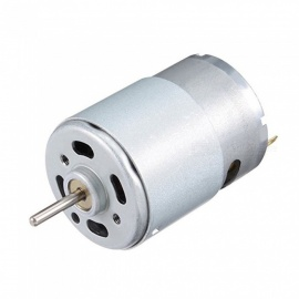 3000RPM 24V High Torque 35mm Dia Cylinder Electric Mini DC Motor