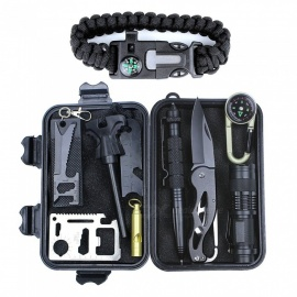 TQF-84 11-in-1 Professional Outdoor Emergency Survival Kit