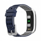 DMDG Smart Bracelet Fitness Tracker Heart Rate Monitor ECG/PPG Blood Pressure Watch for IOS Android - Blue