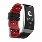 DMDG Smart Bracelet Fitness Tracker Heart Rate Monitor ECG/PPG Blood Pressure Watch for IOS Android- black