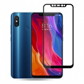Naxtop 2.5D Full Screen Coverage Tempered Glass Protector for Xiaomi Mi 8 Explorer - Black