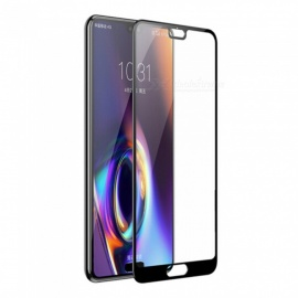 Naxtop 2.5D Full Screen Coverage Tempered Glass Protector for Huawei P20 Pro - Black