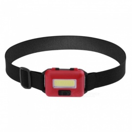 ZHAOYAO New Waterproof 10W COB 3-Mode 500LM outdoor COB LED Head Lamp With 3 AAA Batteries - Red