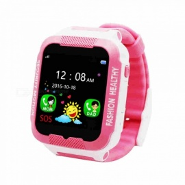 DS39 MTK6261 processor smart bluetooth klocka armbandsur - rosa