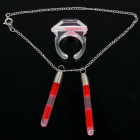 Creative &amp; Funny Glow Jewelry Set Anklet + Ring