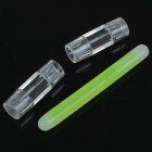 Green Glow Sticks Light Glow Shoelace Accessories (2-Piece Pack)