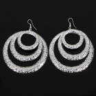 Fashion Metal Earrings - Silver (5-Pair Pack)