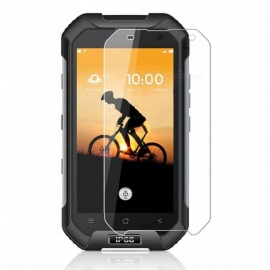naxtop 2.5D gehard glas screen protector voor blackview BV6000S - transparant