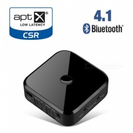 Apt-x HIFI Wireless Adapter Bluetooth Receiver Transmitter Audio 3.5mm SPDIF Optical Fiber