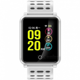 "N88 IP68 impermeabile 1,3"" display a colori bluetooth 4.2 orologio da polso intelligente - bianco"