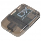 Multi-Function M2/MS/SD/TF Card Reader with DX Logo (Transparent Grey)