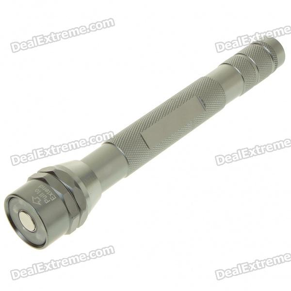 2-in-1 White 6-LED Torch with Retractable Flexible Magnetic Pickup Tool (68cm-Length/4*AG13)