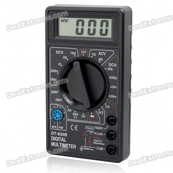 DT-830B Handheld Digital Multimeter for Watch Repair (1*6F22)