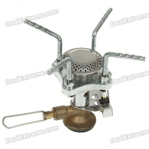 Outdoor Camping Mini Portable Metal Butane Stove (2*AG3)