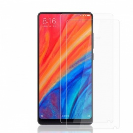 2Pcs 0.2mm 9H Hardness Tempered Glass Screen Protector for Xiaomi Mi Mix 2S