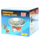 Outdoor Camping Portable Metal Windproof Butane Stove (2*AG3)