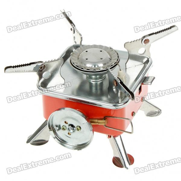 Ultra Mini Portable Outdoor Metal Butane Stove (2*AG3)