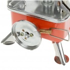Ultra Mini Portable Outdoor Metal Butane Stove