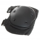 Military Tactical Full Knee & Elbow Protection Pads Set - Black