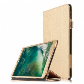 Practical PU Leather Full Body Cover Case with Stand for IPAD Pro 10.5 inch - Gold