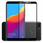 Naxtop 2.5D Full Screen Coverage Tempered Glass Protector for Huawei Y7 Prime (2018) / Nova 2 Lite - Black
