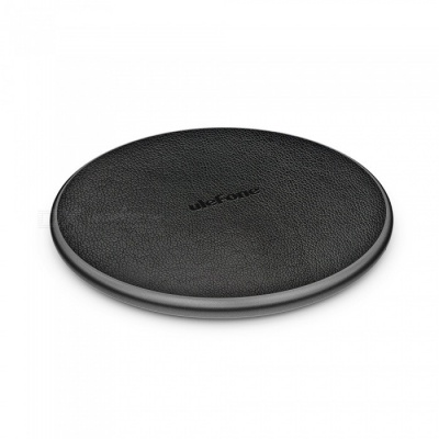 Ulefone UF002 10W 9V Wireless Fast Qi Charging Pad Charger for IPHONE X S9 Mix 2S - Black