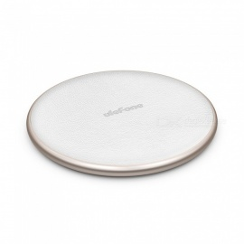Ulefone UF002 10W 9V Wireless Fast Qi Charging Pad Charger for IPHONE X S9 Mix 2S - Gold