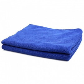 CARKING 2pcs 300gsm 65 x 33cm Blue  Water Absorbing Microfiber Car Body Cleaning Towels - Blue