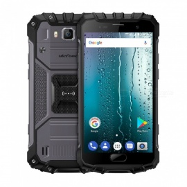 ulefone armor 2S android 7.0 impermeabile IP68 5.0 '' MT6737T FHD tipo-c 4G phone w / 2GB RAM / 16GB ROM - grigio scuro (versione us)