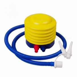 "Inflatable Pump Air Pump Balloon 4"" 500CC Swim Ring Inflating Tool Pedal Type Mattress Inflatable for Yoga Ball Swimming Ring Yellow"
