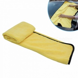 2PCS Super Absorbent Car Wash Microfiber Towel Car Cleaning Drying Cloth Large Size 92*56cm Car Care Cloth Towels Yellow