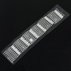 Bridal Wedding Proms Imitated Diamond Metal Hair Pin Clip Combs (6-Piece Pack)