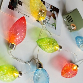 Decorative LED String Light Battery Type Lamp String Lights Christmas Party Festival Holiday LED Light Warm White/0-5W
