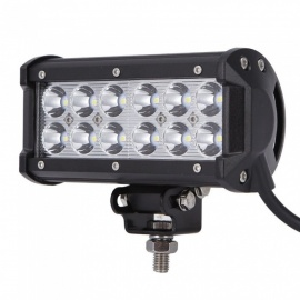 RXDZ 36W Car LED Work Lights LED Lights Strip Headlight Flood Light - Black