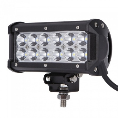 RXDZ 36W Car LED Work Light LED Light Strip Headlight Spotlight - Black